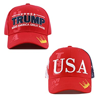"58282ca3 The Hat Depot Original Exclusive Donald Trump 2020""Keep America  Great/Make America Great"