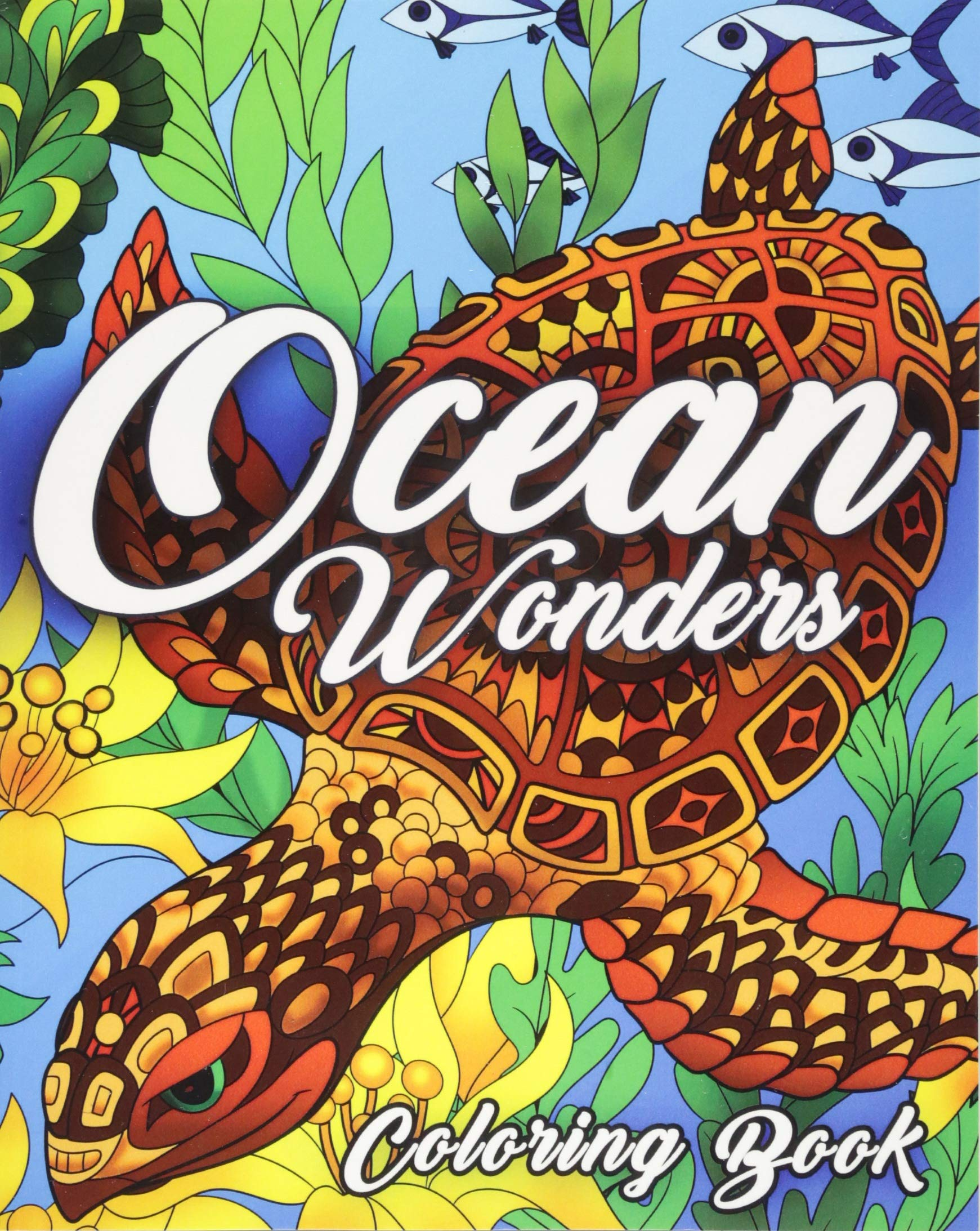 Ocean Coloring Book Featuring Beautiful product image