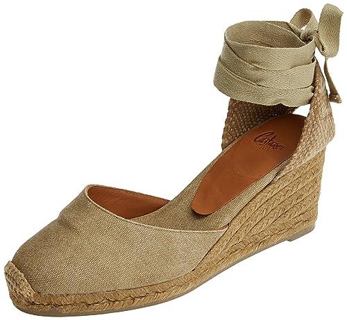 Castañer Carina/6/Fw17012, Alpargatas para Mujer, Hueso (Tierra), 40 EU: Amazon.es: Zapatos y complementos