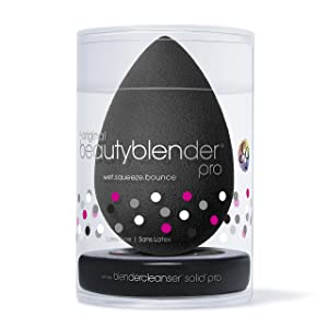 beautyblender pro with mini solid pro kit: Makeup Sponge + Pro Solid Blender Cleanser Kit