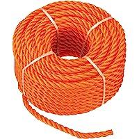 CON:P multifunctioneel touw polypropyleen, 6 mm, 20 m, oranje, B34082 Stärke 6 mm