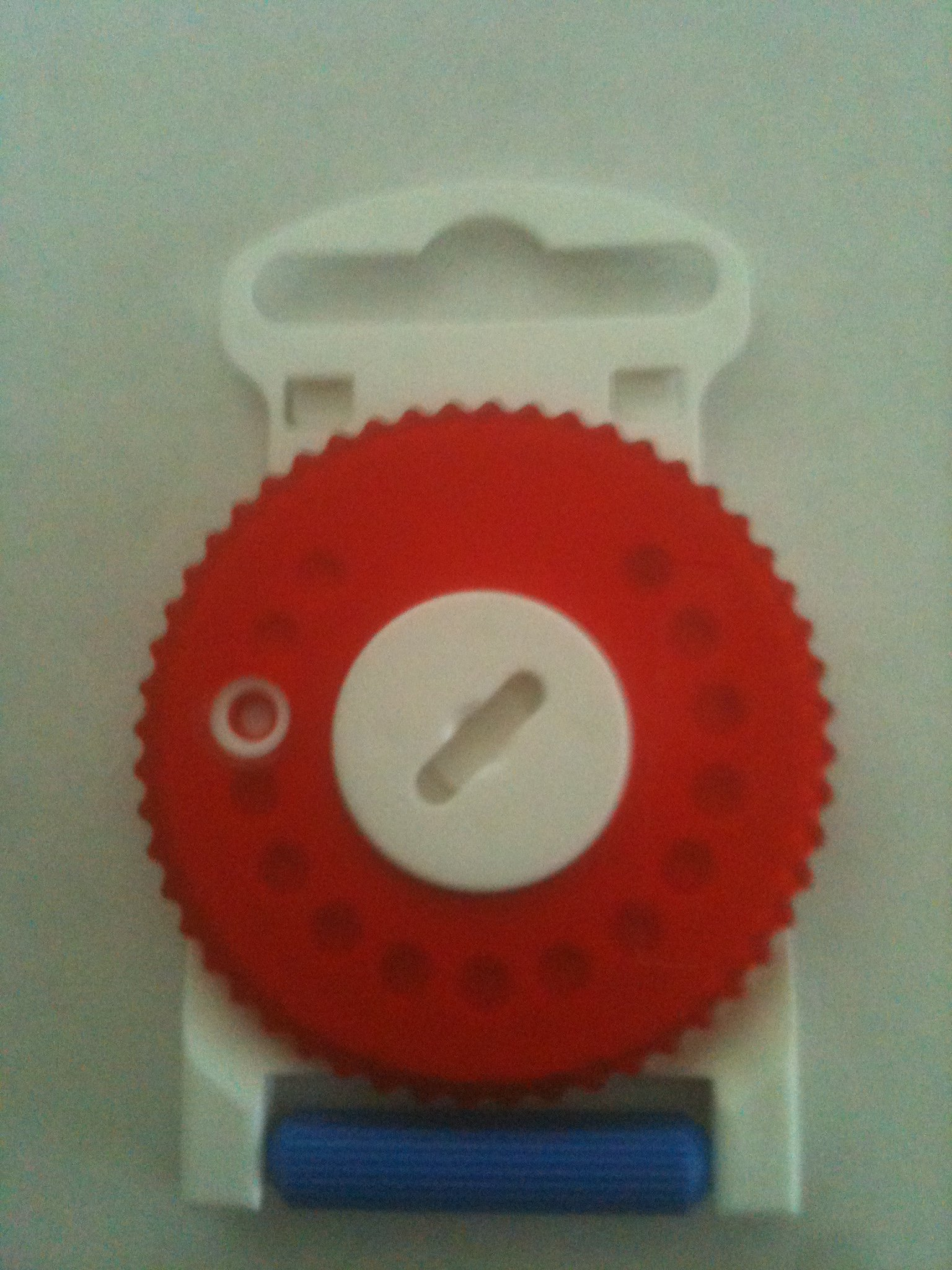 HF3 RED Wax Guard Wheel for Resound Hearing Aids - RIGHT SIDE RED by Hearing Aid Supply Shop
