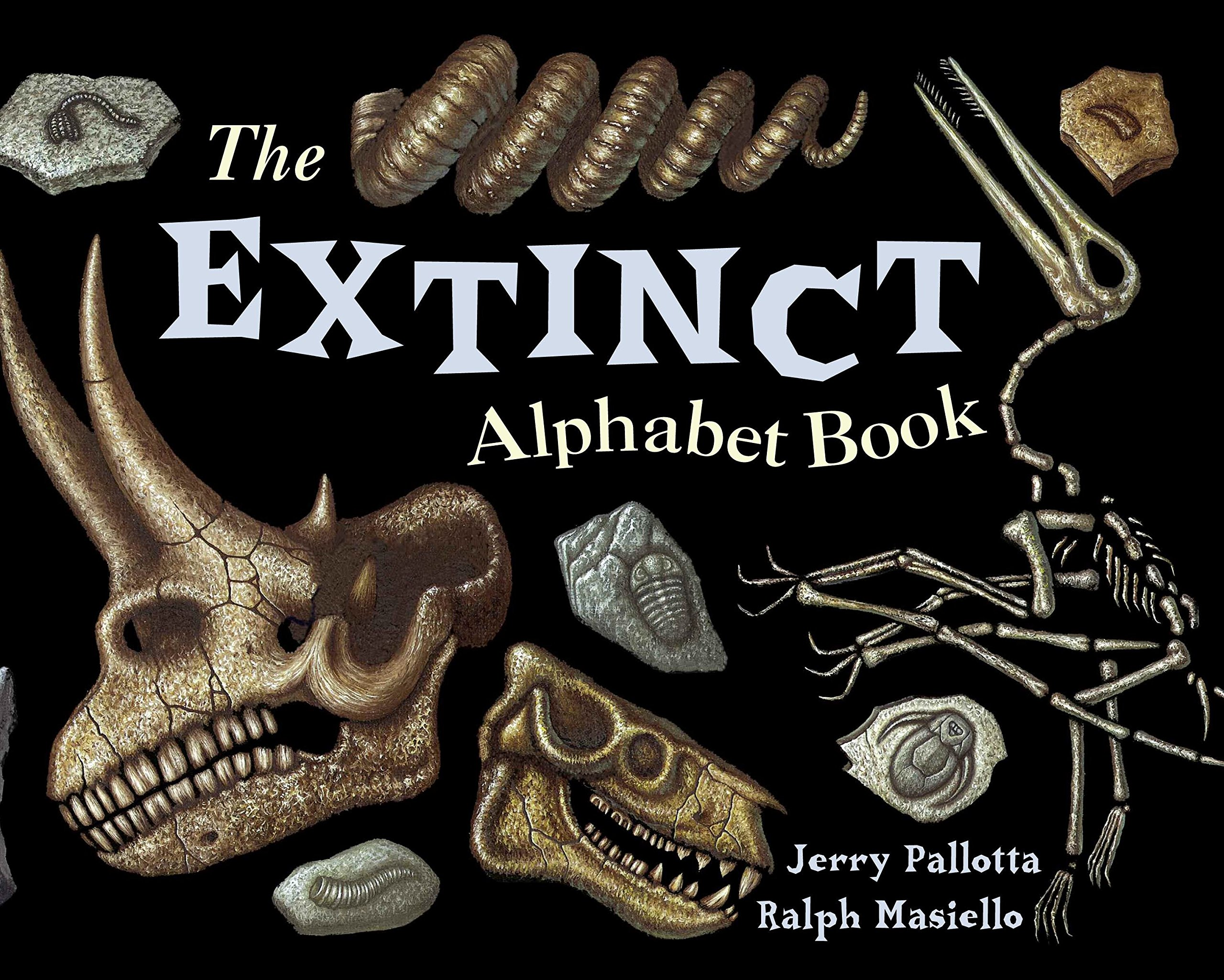 The Extinct Alphabet Book Jerry Pallottas Alphabet Books Jerry