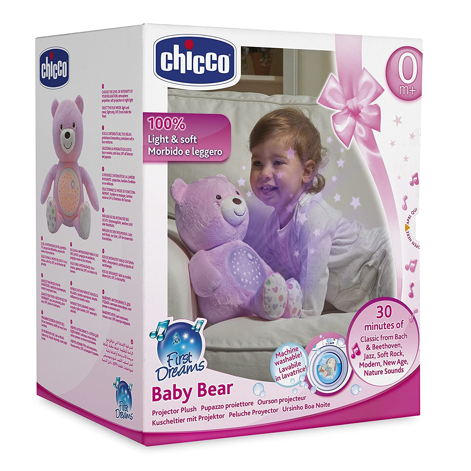 Chicco-00008015100000 Big /& Small Proyector Color Rosa 8015100000