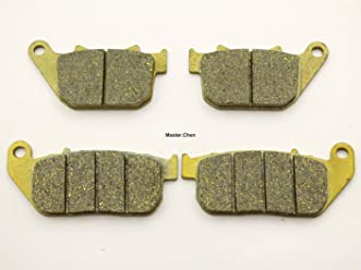 Master Chen Front Rear Brake Pads Brakes for Can Am Spyder RS RT SE5 SM5 SM6 SE6 MC0411-PAD
