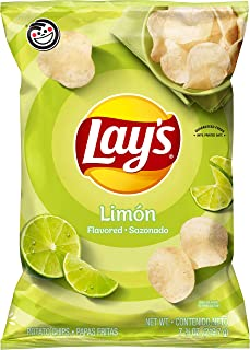 product image for Lay's Potato Chips, Limon Flavor, 7.75oz Bag (Packaging May Vary)