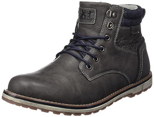 XTI 047094, Botines para Hombre, Gris (Grey), 44 EU: Amazon.es: Zapatos y complementos