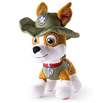6d065b43fe3 Paw Patrol Tracker 10 Inch Plush  Amazon.co.uk  Toys   Games