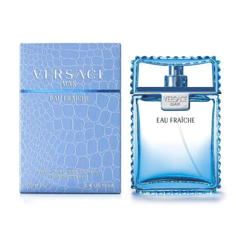 Versace Man Eau Fraiche Desodorante Vaporizador - 100 ml: Amazon.es: Belleza