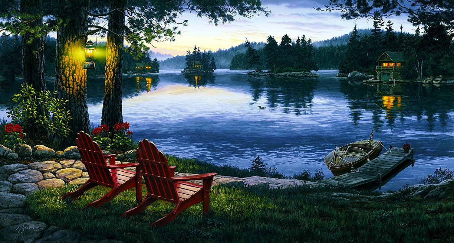 brewster northwoods 145 87727 pre pasted wall mural lake mural brewster northwoods 145 87727 pre pasted wall mural lake mural 7 5 foot width x 4 foot height amazon in home improvement
