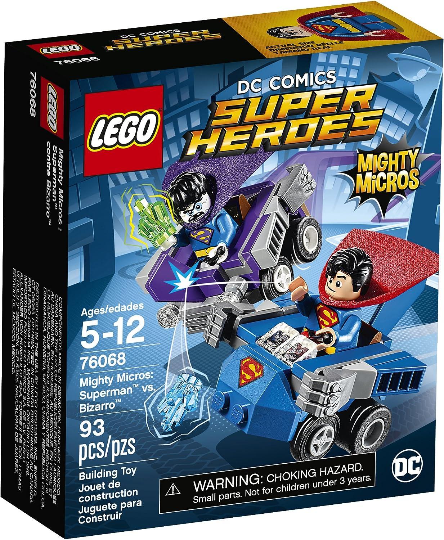 LEGO Super Heroes Mighty Micros: Superman Vs. Bizarro 76068 Building Kit