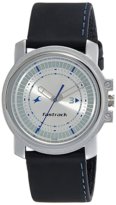 Fastrack Analog Silver Dial Men's Watch NM3039SL01/NN3039SL01 Men's Watches