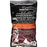 Kirkland Signature Steak Strips Extra Thick Cut -340g (Pack of 1)