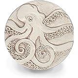 McCarter Coasters Octopus Absorbent Drink Coasters Light Beige 4.25 inch Set of 4