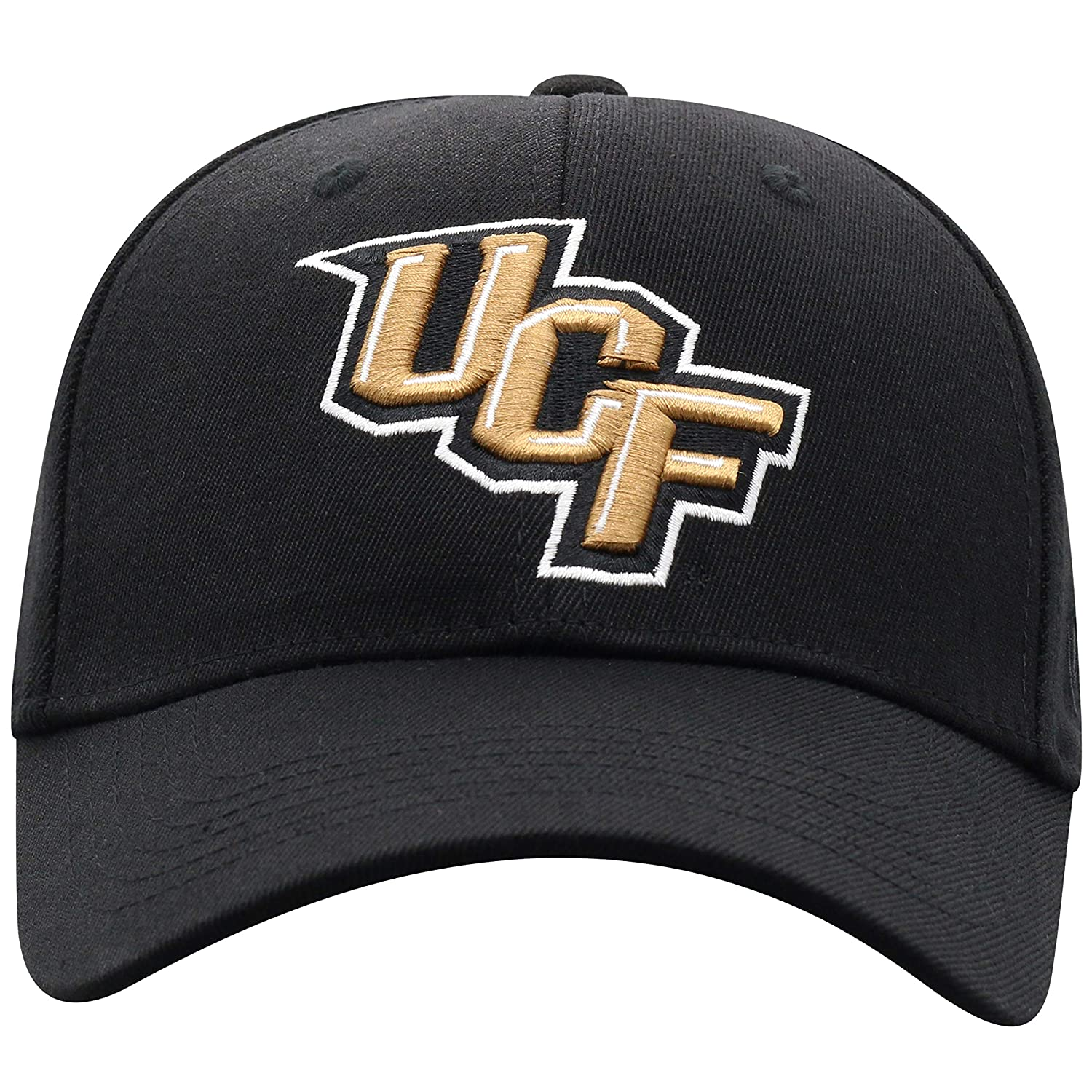 Top of the World NCAA Premium Collection One-Fit Memory Fit Hat Black Icon