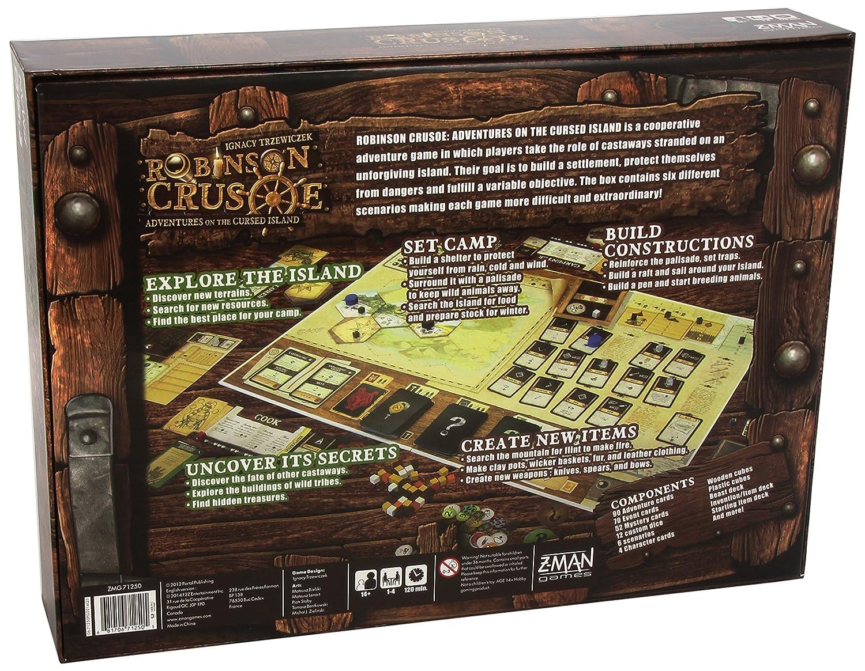Robinson Crusoe - Juego de Mesa (Zman Games ZMG71250) [versión ...