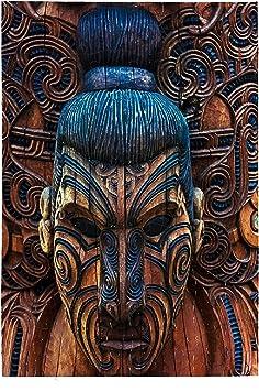 Puzzle Maorí Totem - A4 - 27cm x 18cm - 120 piezas: Amazon.es ...
