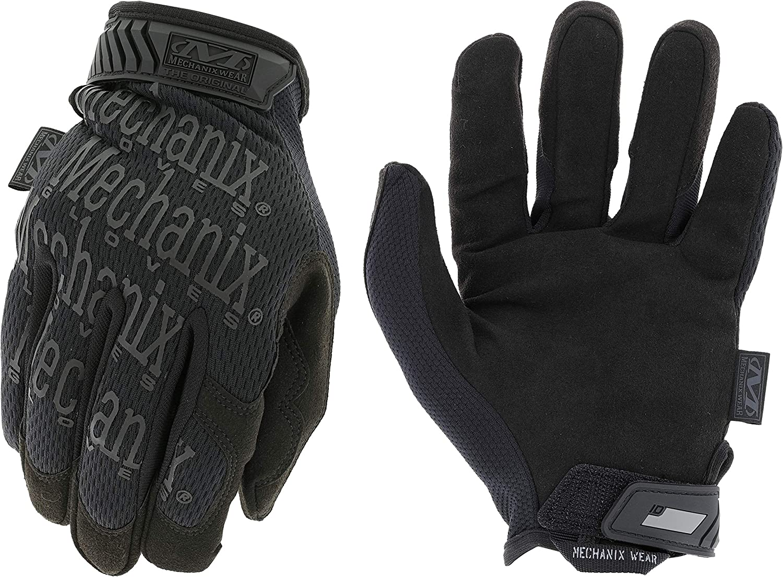 Mechanix戴黑色原装隐蔽战术手套