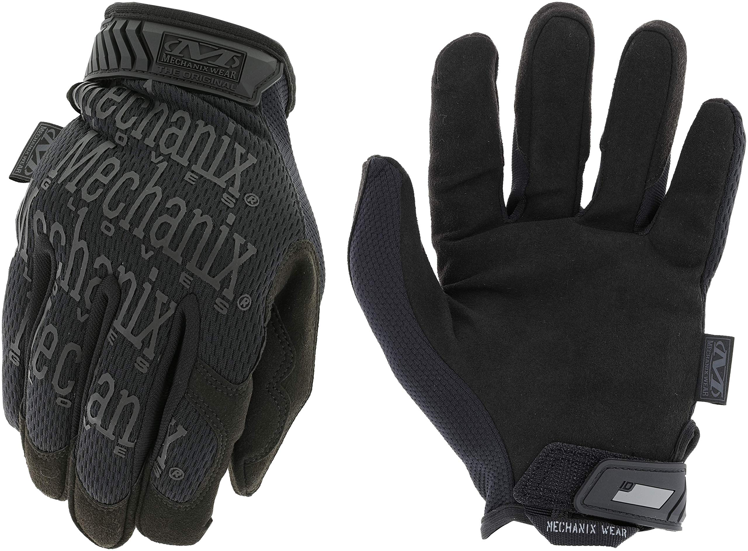 Mechanix Wear: The Original Covert Tactical Work Gloves (Large, All Black)