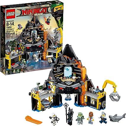 Amazon Com Lego Ninjago Movie Garmadon S Volcano Lair 70631 Toys Games