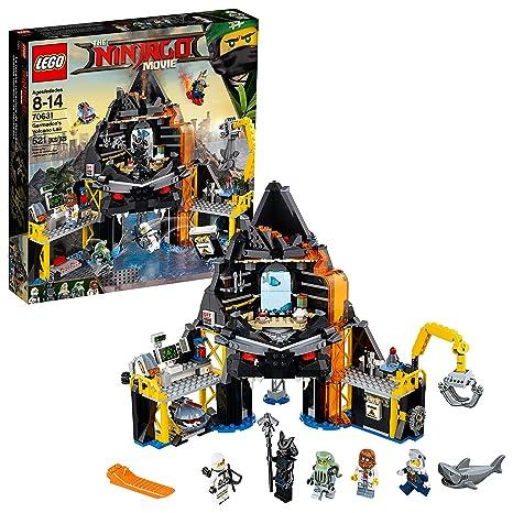 Amazon.com  LEGO Ninjago Movie Garmadon s Volcano Lair 70631  Toys   Games cdee7bcf9