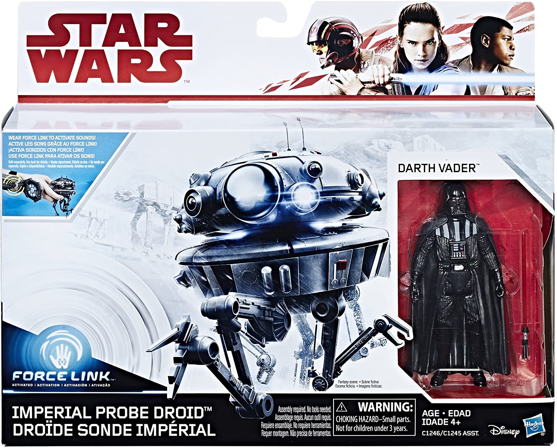 "Star Wars ESB Force Link LOOSE 3.75/"" Figure DARTH VADER no imperial probe droid!"