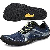 SAGUARO Versátil Minimalistas Zapatillas Ligeras Flexibles para Exterior Interior - Gym Asfalto Playa Montaña, Unisex…