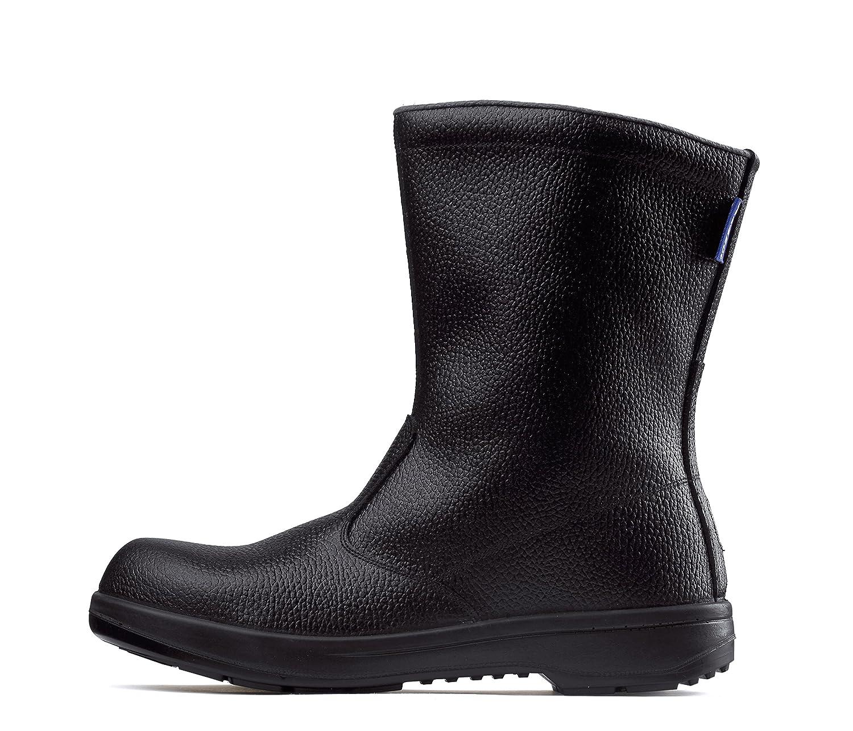 (ジーベック) XEBEC JIS規格合格品 安全靴 半長靴 (牛革使用) (85024-xe) 【24.5~29.0cmサイズ展開】 B00C70FX1W 26.5 cm ブラック