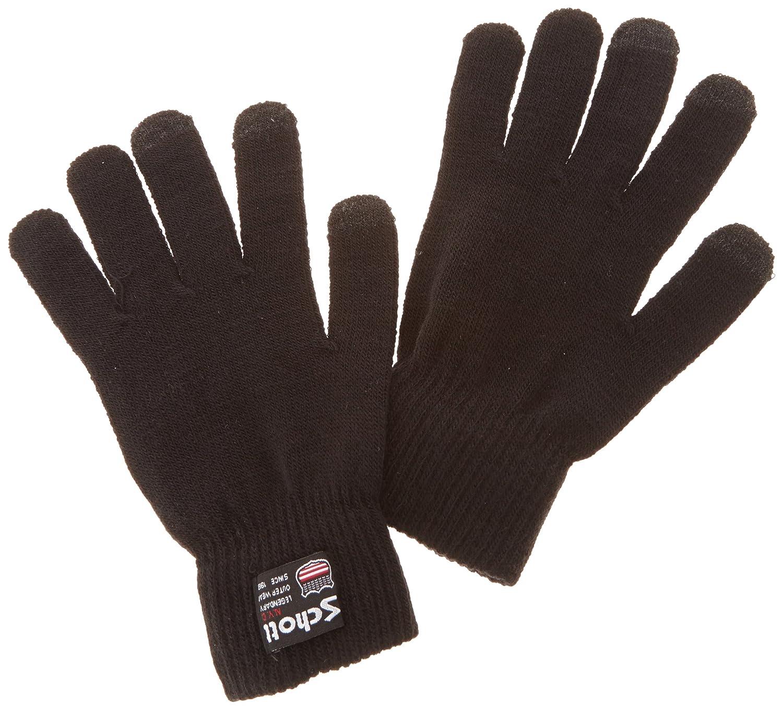 Schott Herren Handschuh GL407,Uni