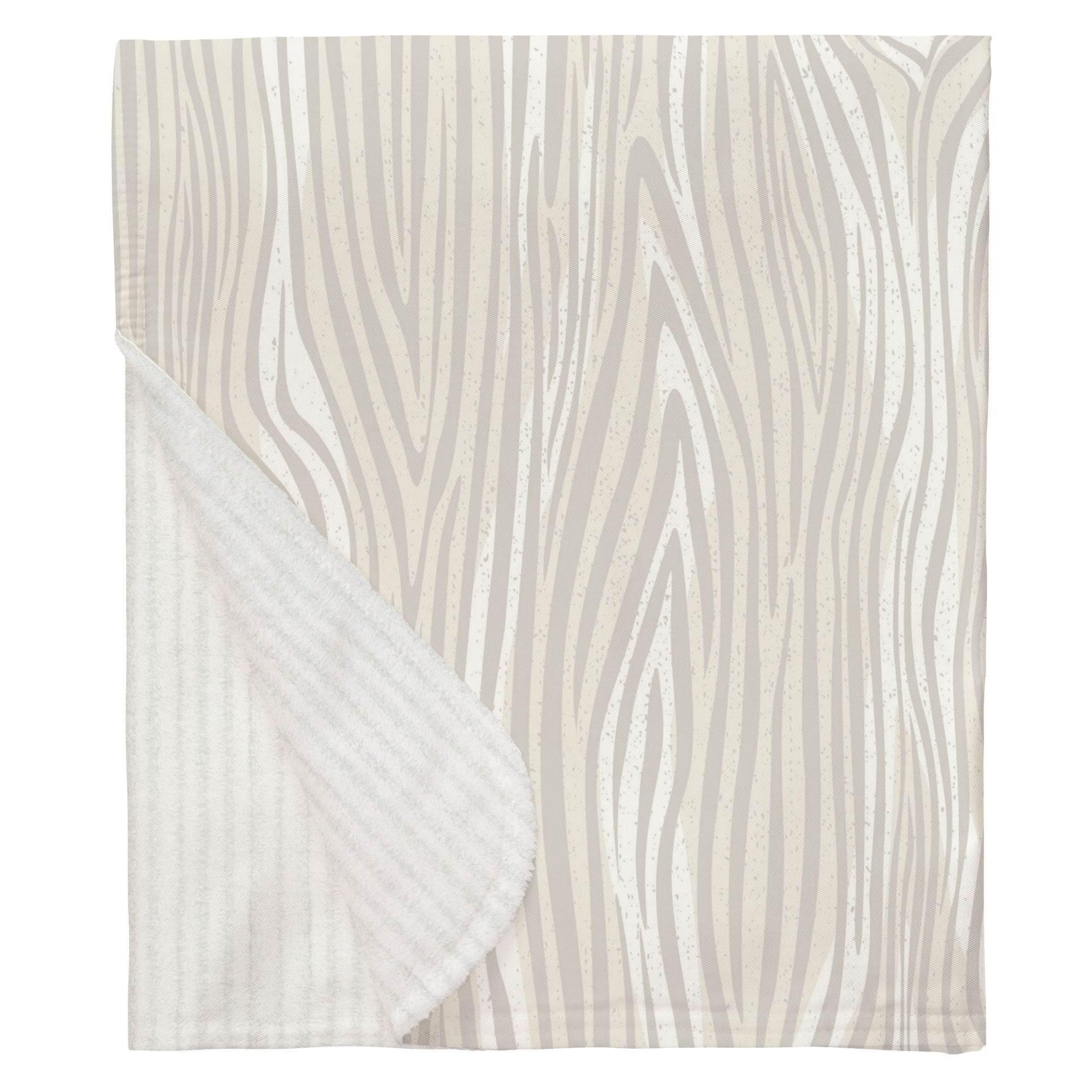 Carousel Designs French Gray Large Woodgrain Mini Crib Blanket by Carousel Designs (Image #1)