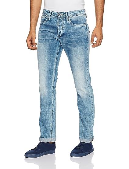 Jack & Jones Men's Clark Straight fit Jeans Men's Jeans at amazon