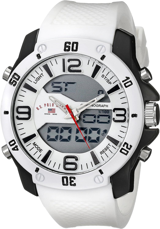 U.S.POLO ASSN. US9471 - Reloj de Pulsera Hombre, Silicona, Color ...