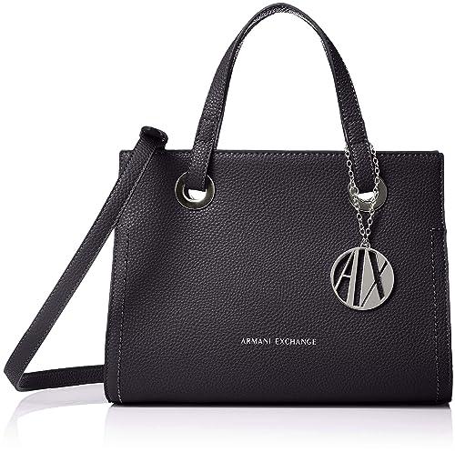 5a3d770974 Armani Exchange - Small Shopping Bag, Bolsos totes Mujer, Azul (Navy ...