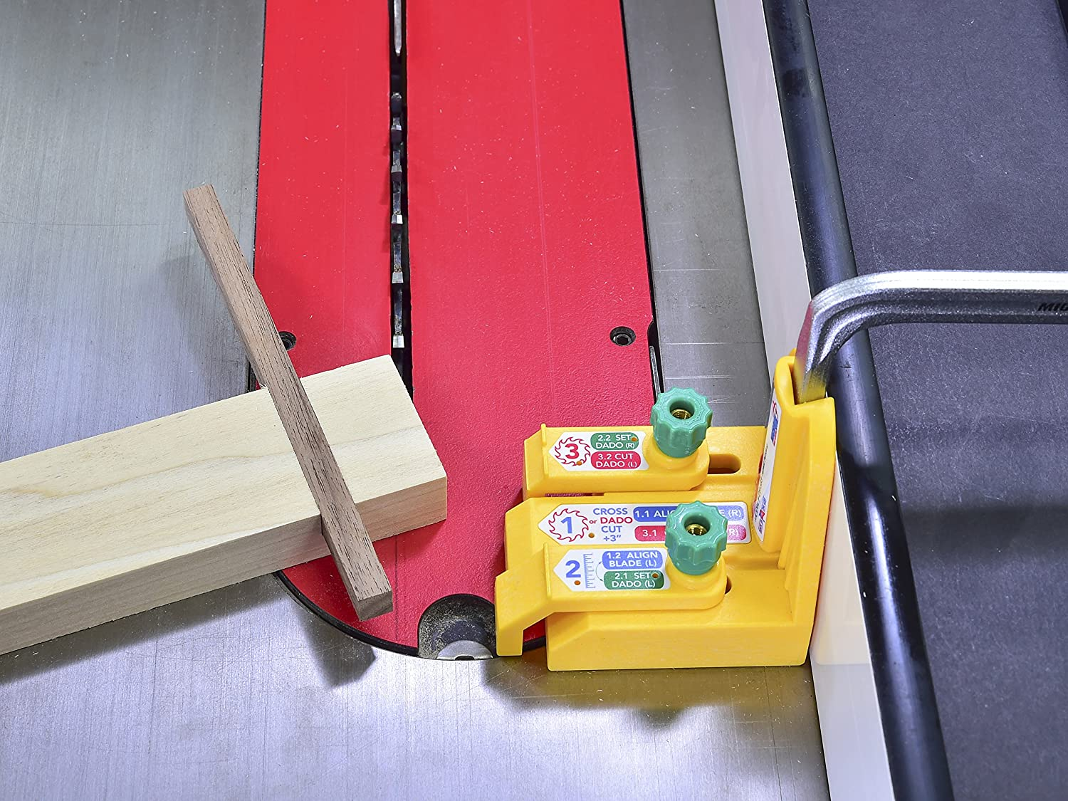 Yellow MATCHFIT Accessory for Dovetail Clamps