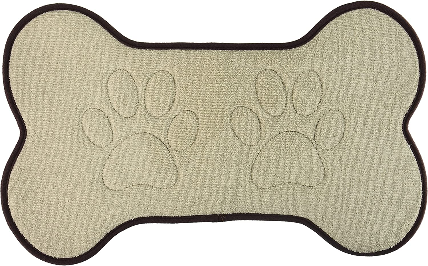 Beatrice Home Fashions Bone Shaped Feeding Mat