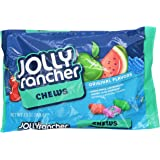 Jolly Rancher Fruit Chews (Cherry, Watermelon, Blue Raspberry & Green Apple), 13-Ounce Bags (Pack of 6)
