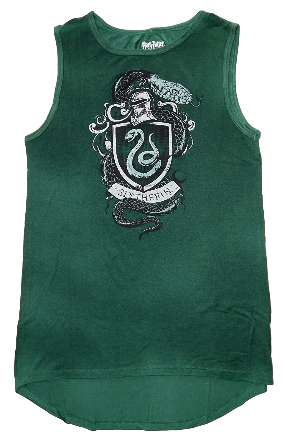 0d5abc17 Harry Potter House Gryffindor Womens Juniors Muscle Tank Top (XL,  Slytherin): Amazon.ca: Clothing & Accessories