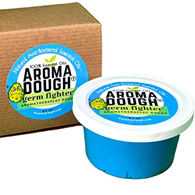 Aroma Dough Germ Fighter Aromatherapy Play Dough Gluten-Free Non-Allergenic Natural Playdough - Helps Naturally Fight Germs with 100% Essential Oils - Play Therapy Tools - Sensory Room Equipment: Toys & Games