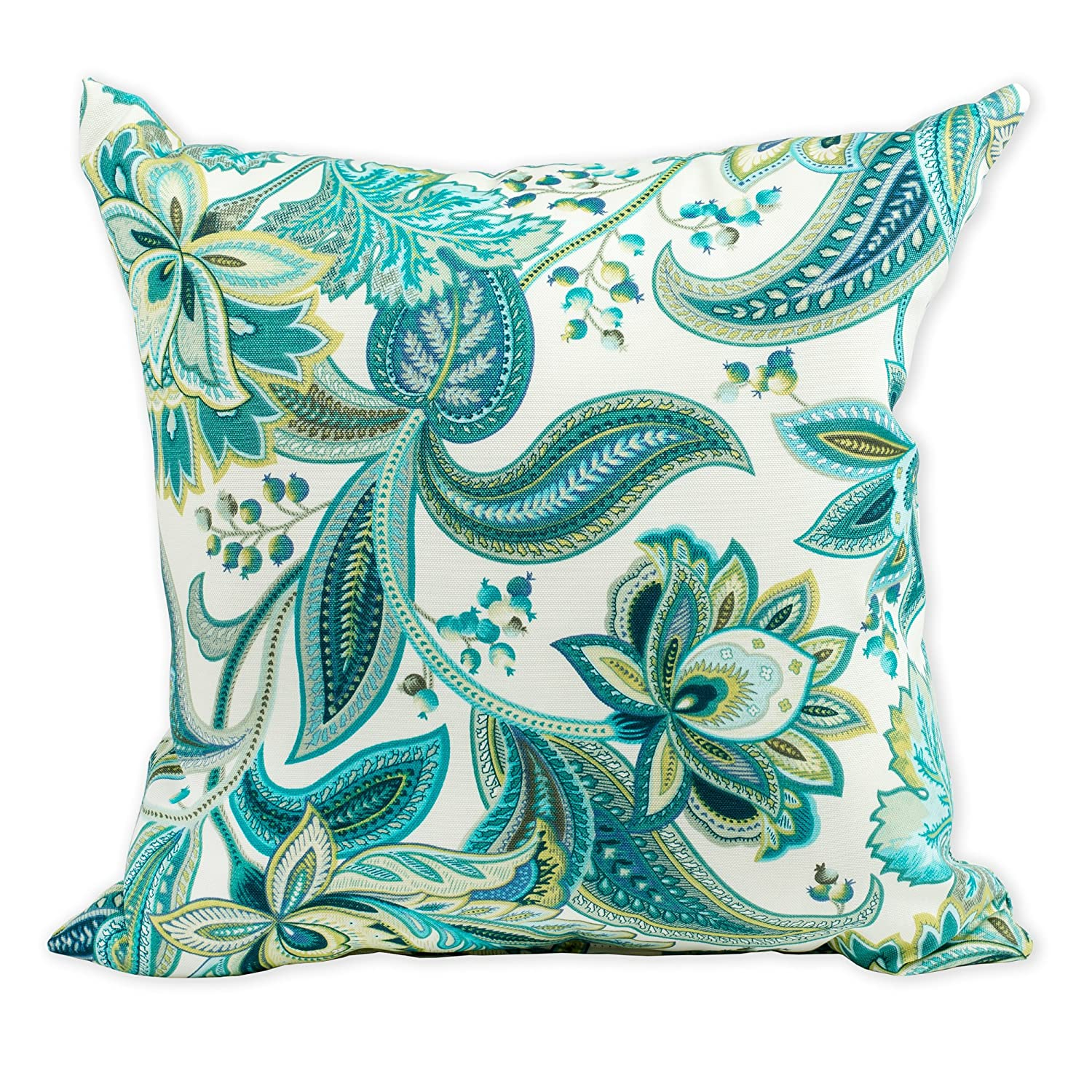 x 20 in, Sofa 12 in Designart CU13747-12-20 Full Bloom Pink Flower with Leaves Floral Lumbar Cushion Cover for Living Room Throw Pillow