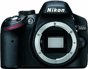 Nikon D3200 Body - Cámara Digital (24.2 MP, SLR Body, CMOS, TTL ...