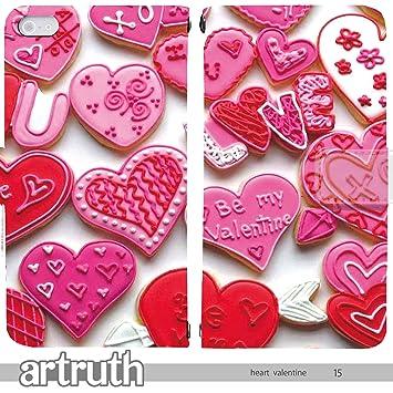 ae9057d3bb Love Heart Valentine 手帳型 iPhoneSE (iPhone SE) iphoneSE(G007403_05) 専用 ハート