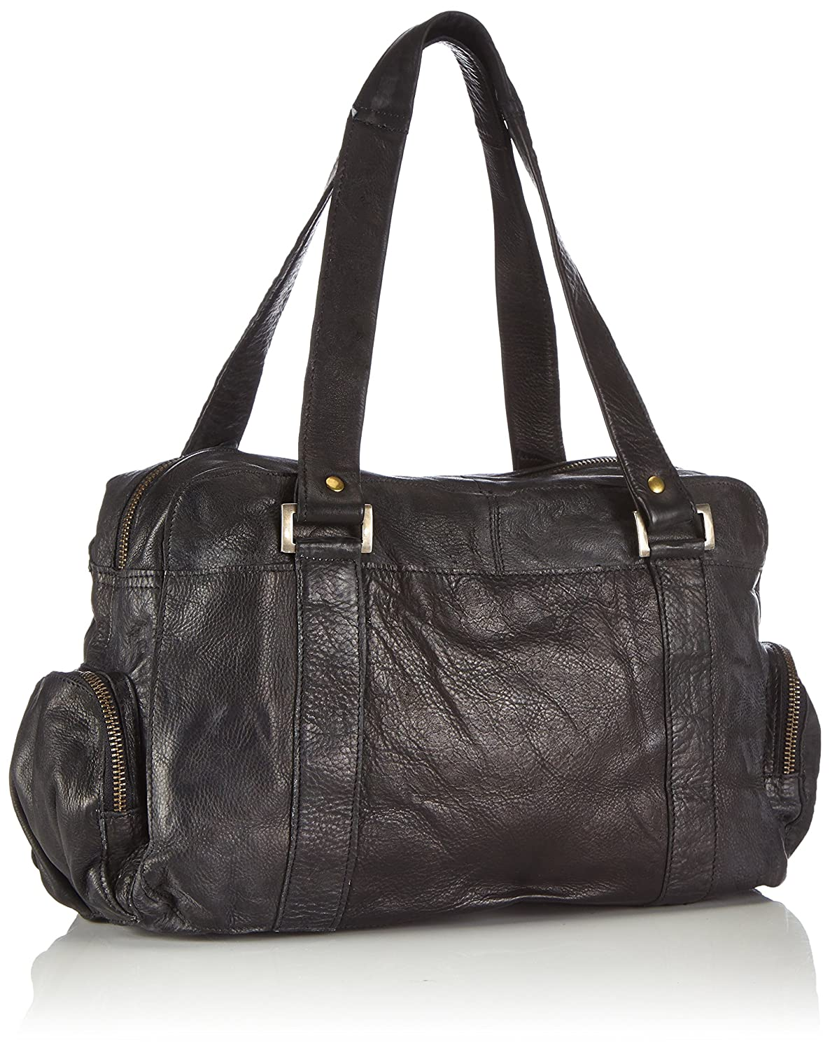 Pieces Totally Royal, Sac porté épauleNoir (Black)