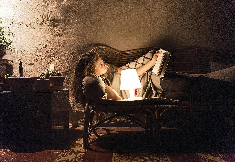 aufladbar mit Mini-USB Fatboy Retail ETPSNG-WHT Tischlampe Nachttischlampe Fatboy Edison the Petit ohne Kabel Outdoor-Lampe