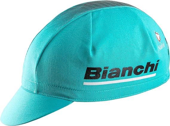 BIANCHI REPARTO CORSE  CAPPELLINO BASEBALL CAP CK16 Celeste