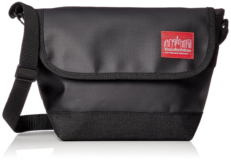 [マンハッタン ポーテージ] 公式Matte Vinyl Casual Messnger Bag  MP1603MVL B079TRVYGP  ブラック