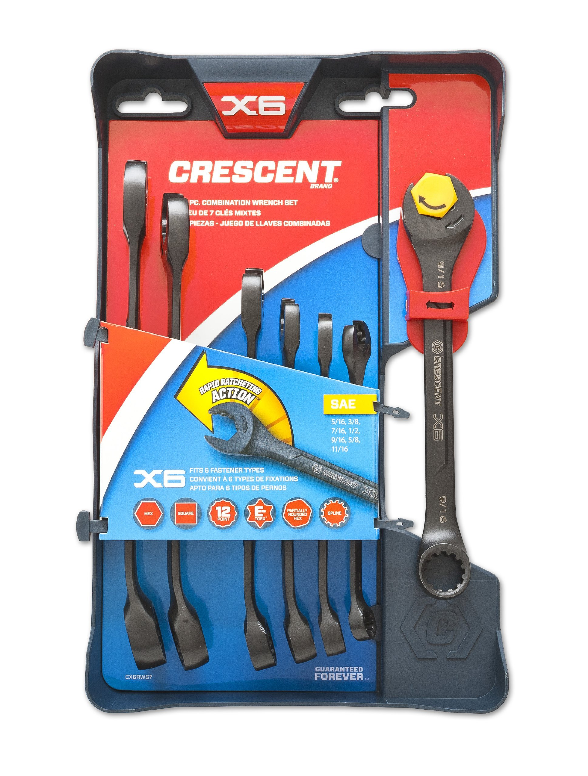 crescent cptaw8 home hand tools wrenches adjustable sets crescent home improvement. Black Bedroom Furniture Sets. Home Design Ideas