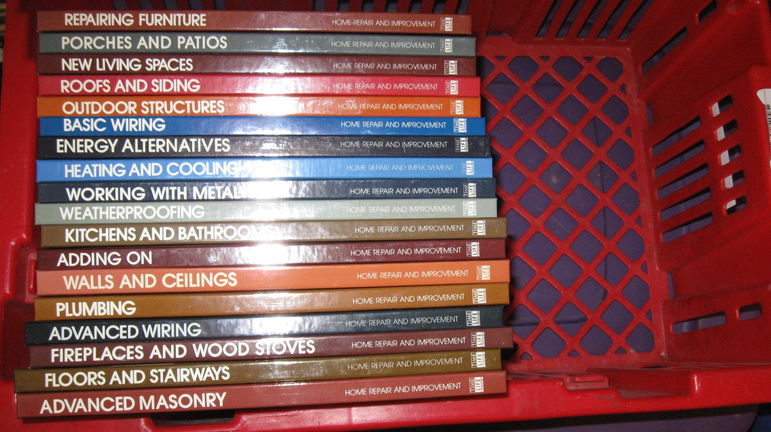 Home Repair and Improvement Series -- 18 Volume Set (Home Repair and  Improvement): Amazon.com: Books