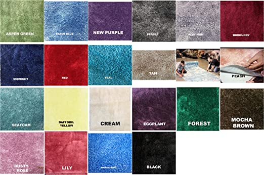 Wall To Wall Bathroom Carpet 100 Nylon 5ft Wide Custom Lengths Sold By The Foot 23 Color Choices