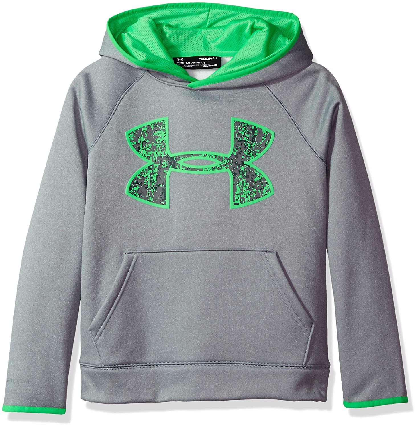 Under Armour Boys' Armour Fleece Big Logo Hoody Under Armour Apparel 1299342