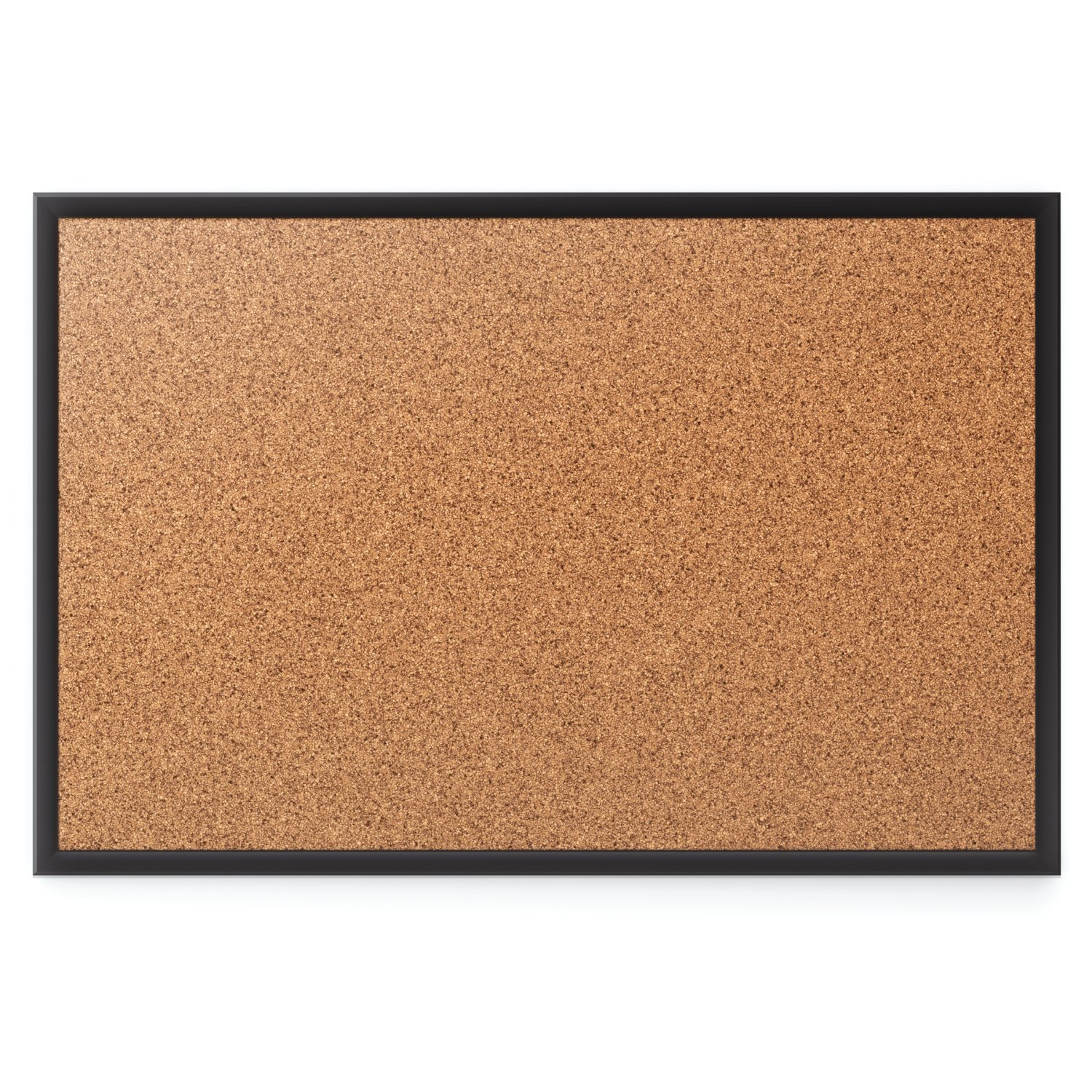 Uncategorized Cork Board No Frame amazon com quartet cork bulletin board 6 x 4 feet black frame 2307b office products